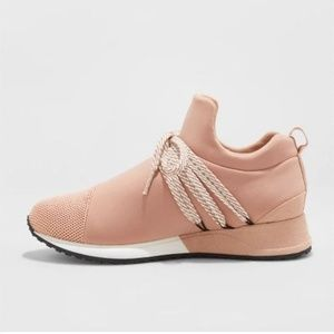 a new day Shoes - NWT Slip On Blush Fashion Sneakers - 6/7.5/10/11